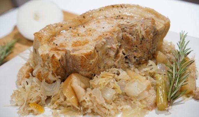 Instant-Pot-Pork-and-Sauerkraut-recipe-tops-pressurecookertips.com