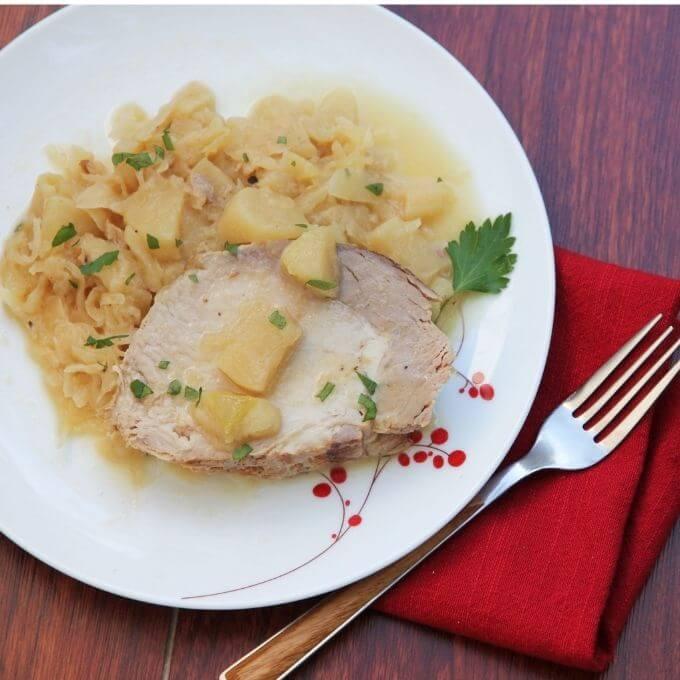 Instant-Pot-Pork-and-Sauerkraut-recipes-tops-pressurecookertips.com